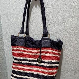 The Sak Cambria crochet shoulder bag